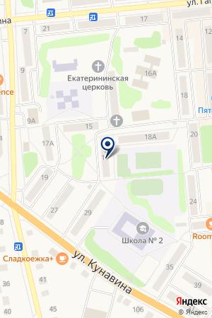 ТОРГОВЫЙ ЦЕНТР БОГДАНОВИЧ на карте Богдановича