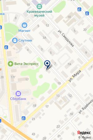 Детский уголок ЛУКОМОРЬЕ на карте Богдановича