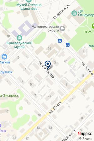 ПАРИКМАХЕРСКАЯ АФРОДИТА на карте Богдановича