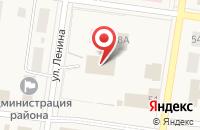 Схема проезда до компании ТАКСИ ЮГРА в Октябрьском