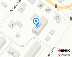 Схема местоположения почтового отделения 624867