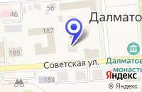 Схема проезда до компании СТРОИТЕЛЬНАЯ ФИРМА РОСМАРКЕТ в Далматове