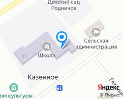 Схема местоположения почтового отделения 641145