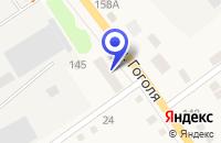Схема проезда до компании ПЕКАРНЯ ГАТАУЛИН О.Г. в Шумихе