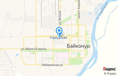 Местоположение на карте пункта техосмотра по адресу г Байконур, пр-кт Абая, д 10