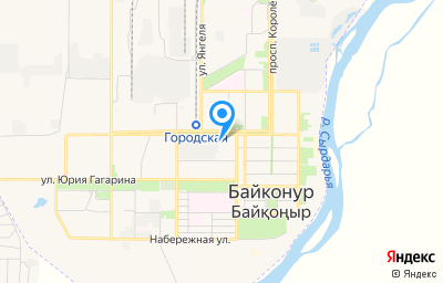 Местоположение на карте пункта техосмотра по адресу г Байконур, пр-кт Абая, д 14
