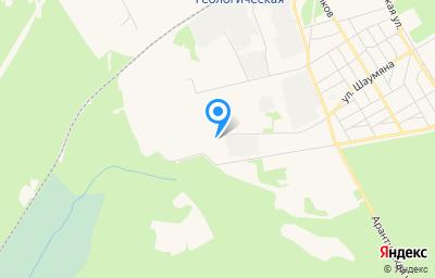 Местоположение на карте пункта техосмотра по адресу Ханты-Мансийский Автономный округ - Югра АО, г Югорск, ул Промышленная, влд 8