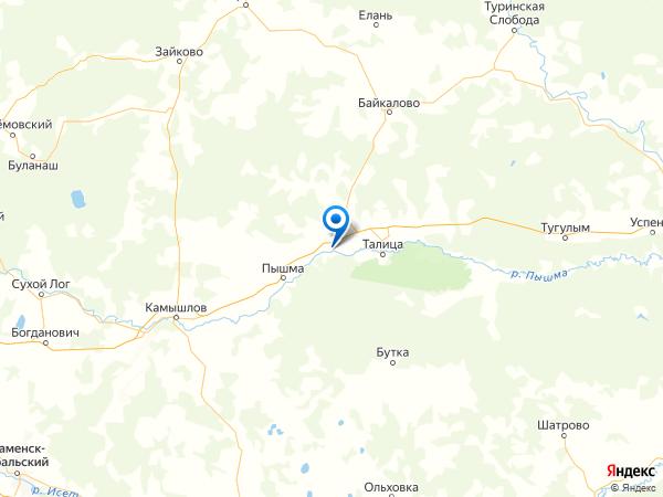 село Яр на карте