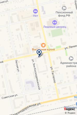 АДМИНИСТРАЦИЯ ПОС.МАЛИНОВСКИЙ на карте Советского (Тюмень)