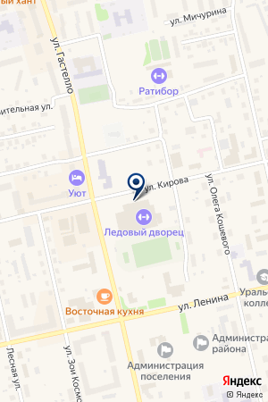 СТРОИТЕЛЬНАЯ КОМПАНИЯ АТЛАНТ на карте Советского (Тюмень)
