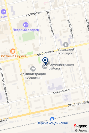АНТИНАРКОТИЧЕСКАЯ КОМИССИЯ СОВЕТСКОГО РАЙОНА на карте Советского (Тюмень)