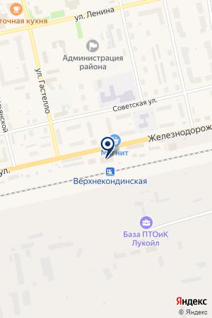 АДМИНИСТРАЦИЯ ПОС.ПИОНЕРСКИЙ на карте Советского (Тюмень)