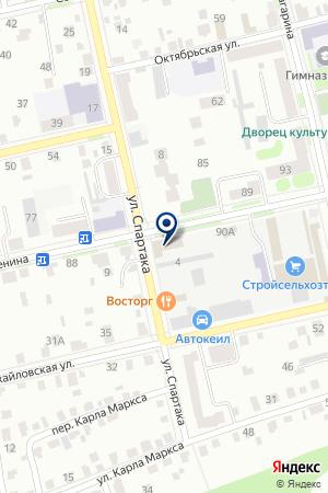 КАТАЙСКАЯ ТИПОГРАФИЯ УРАЛОЧКА на карте Шадринска
