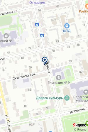 РЕКЛАМНОЕ АГЕНТСТВО ЭМИНОВ Р.Р. на карте Шадринска