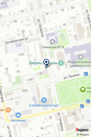 НОТАРИУС НОЖКОВА Л.Л. на карте Шадринска
