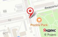 Схема проезда до компании Core I Service в Подольске