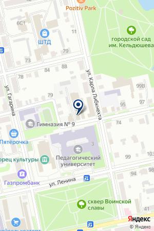 ТАКСОМОТОРНОЕ ПРЕДПРИЯТИЕ ТАКСИ на карте Шадринска