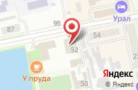 Схема проезда до компании Империя света в Подольске