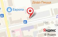 Схема проезда до компании Знак в Шадринске