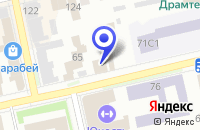 Схема проезда до компании ШАДРИНСКАЯ ГОРОДСКАЯ БОЛЬНИЦА в Шадринске