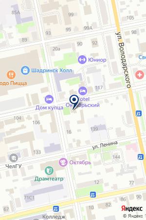 МАГАЗИН АВТОЗАПЧАСТЕЙ КОБЯКОВ А.К. на карте Шадринска
