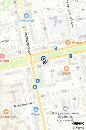 МАГАЗИН АВТОЗАПЧАСТЕЙ ЕМИЛЬЯНОВА Е.В. на карте Шадринска
