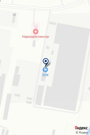 ЗАВОД МЕТАЛЛОКОНСТРУКЦИЙ ЗОК на карте Шадринска