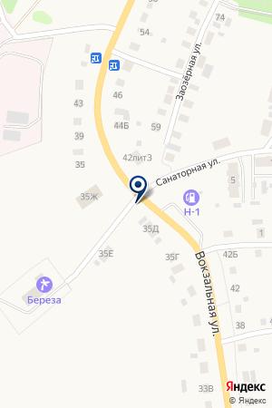 АЗС-Н1 на карте Талицы