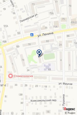 МАГАЗИН АТЛАНТ на карте Талицы