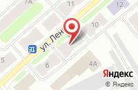 Схема проезда до компании Контакт в Воркуте