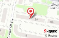 Схема проезда до компании Алгоритм в Воркуте