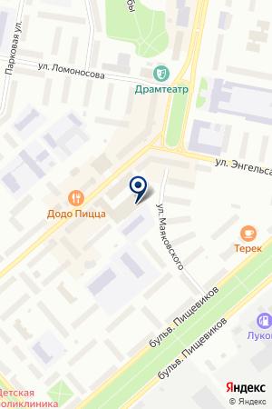 МУП ВОРКУТИНСКИЕ ТЕПЛОВЫЕ СЕТИ на карте Воркуты