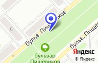 Схема проезда до компании КОЛИБРИ в Воркуте