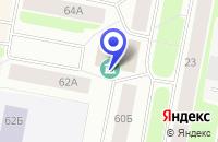 Схема проезда до компании ВАРКУТИНСКОЕ ПРЕДСТАВИТЕЛЬСТВО в Воркуте
