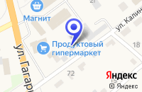 Схема проезда до компании СТРОИТЕЛЬНАЯ ФИРМА РУБИН в Каргаполье