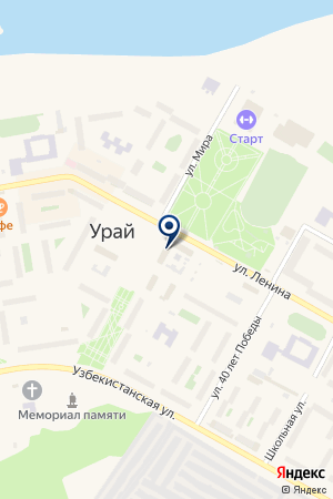 АВИАКАССЫ на карте Урая