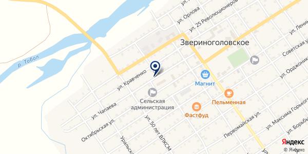 МАГАЗИН СТУДИЯ МЕБЕЛИ на карте Звериноголовском