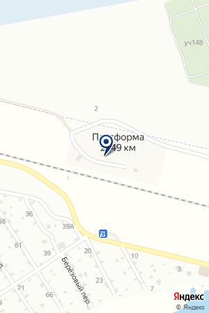 АГЗС ГАЗСИСТЕМ на карте Шадринска