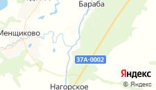 Отели города Темляково на карте