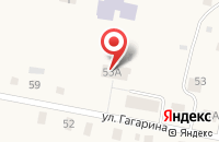 Схема проезда до компании Дом культуры в Бархатово