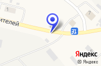 Схема проезда до компании ОТДЕЛЕНИЕ ПОЧТОВОЙ СВЯЗИ ТАВДА-1 в Тавде