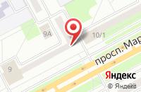 Схема проезда до компании ДЮСШ в Давыдово
