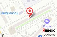 Схема проезда до компании Камелия в Московском