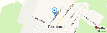 Росинка на карте Горьковки