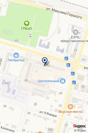 МАГАЗИН ВЕНЕРА на карте Тавды