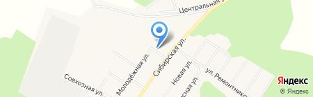 Горьковский на карте Горьковки