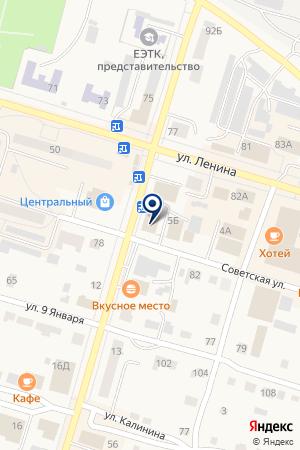 ИНФОРМАЦИОННО-ПОТРЕБИТЕЛЬСКОЕ ОБЩЕСТВО АРГО на карте Тавды