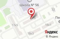 Схема проезда до компании ВДСК-Сервис в Егорьевске