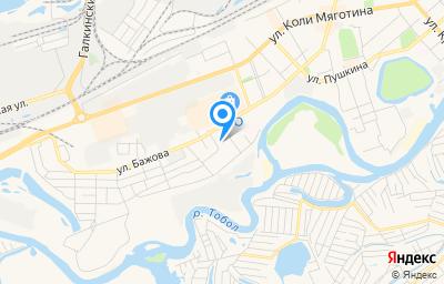 Местоположение на карте пункта техосмотра по адресу г Курган, ул Красномаячная, д 59
