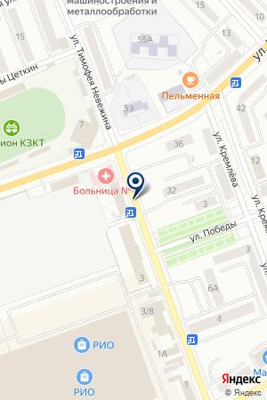 TIANDE на карте Кургана